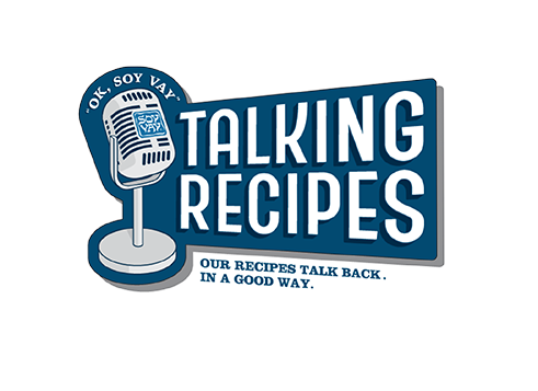 Talking recipes. Our recipes talk back. In a good way.