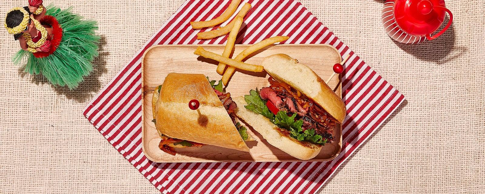 Veri Veri Steak Sandwich from Polker's