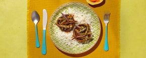 Portobello & Eggplant Stir-fry