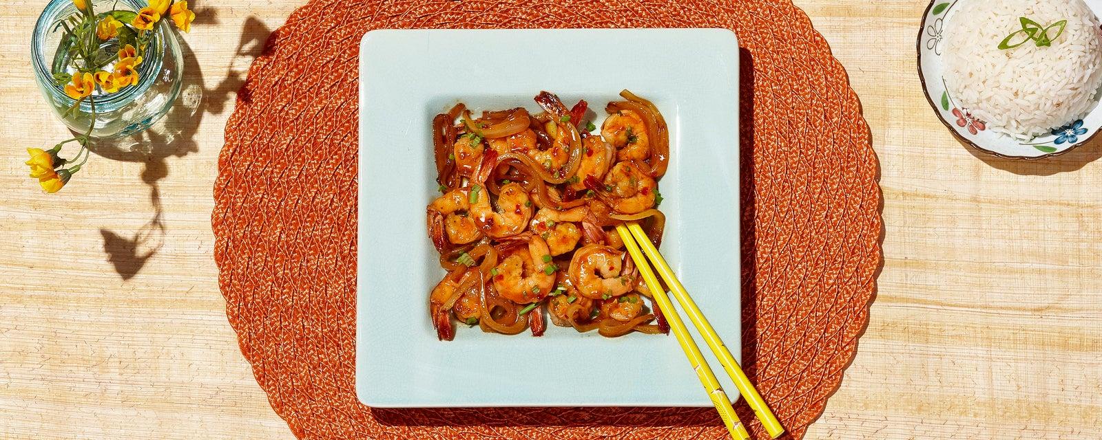 Spicy 'N Sweet Chili Heat Simple Shrimp