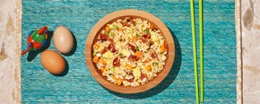 Spicy 'N Sweet Bacon Fried Rice