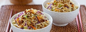 Saucy Vegetable Chow Mein