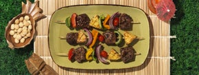 Grilled Steak Kabobs with Pineapple & Pepper