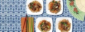 Hoisin Pork Chow Mein Noodle Stir Fry