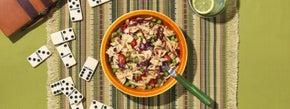 Spicy Asian Bowtie Pasta Salad