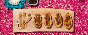 Lucky Loaded Potato Skins