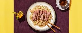 Sesame Beef & Noodles