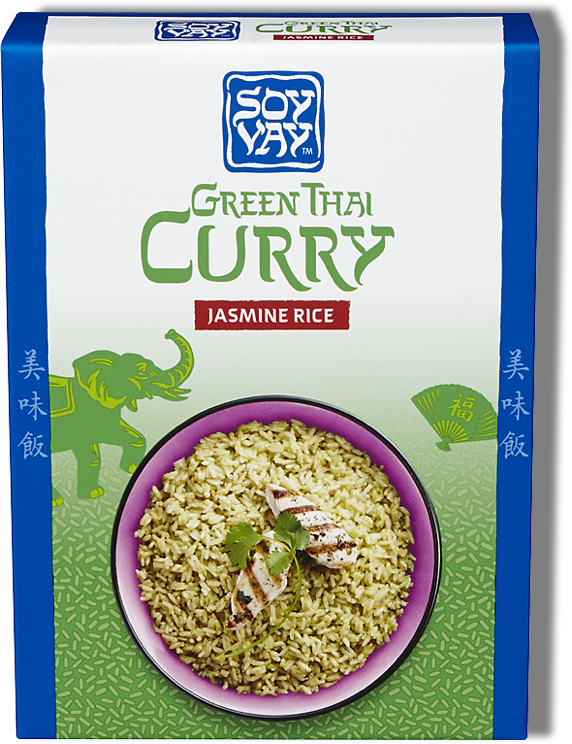 Green Thai Curry Jasmine Rice