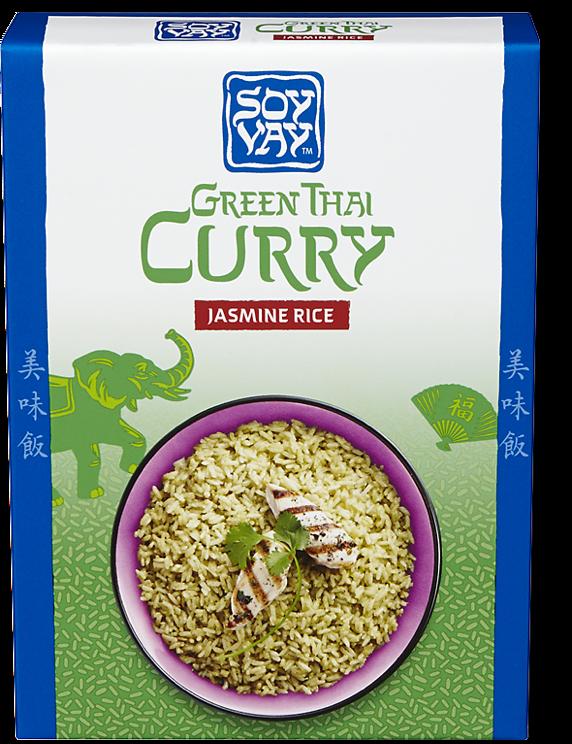 Green Thai Curry Jasmine Rice