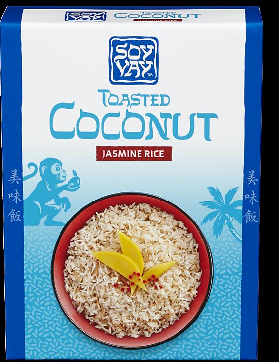 Toasted Coconut Jasmine Rice