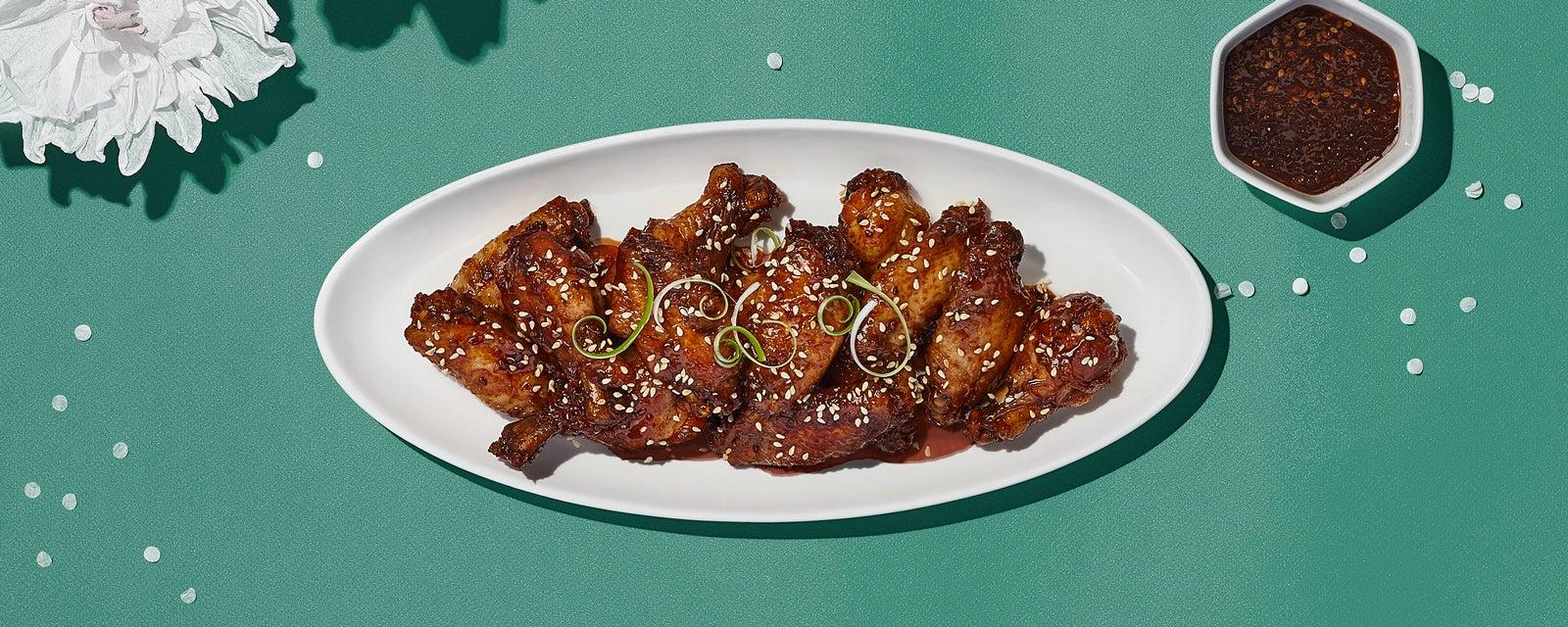 Teriyaki Sticky Wings in Slow-Cooker