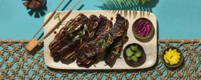 Grilled Teriyaki Beef Short Ribs
