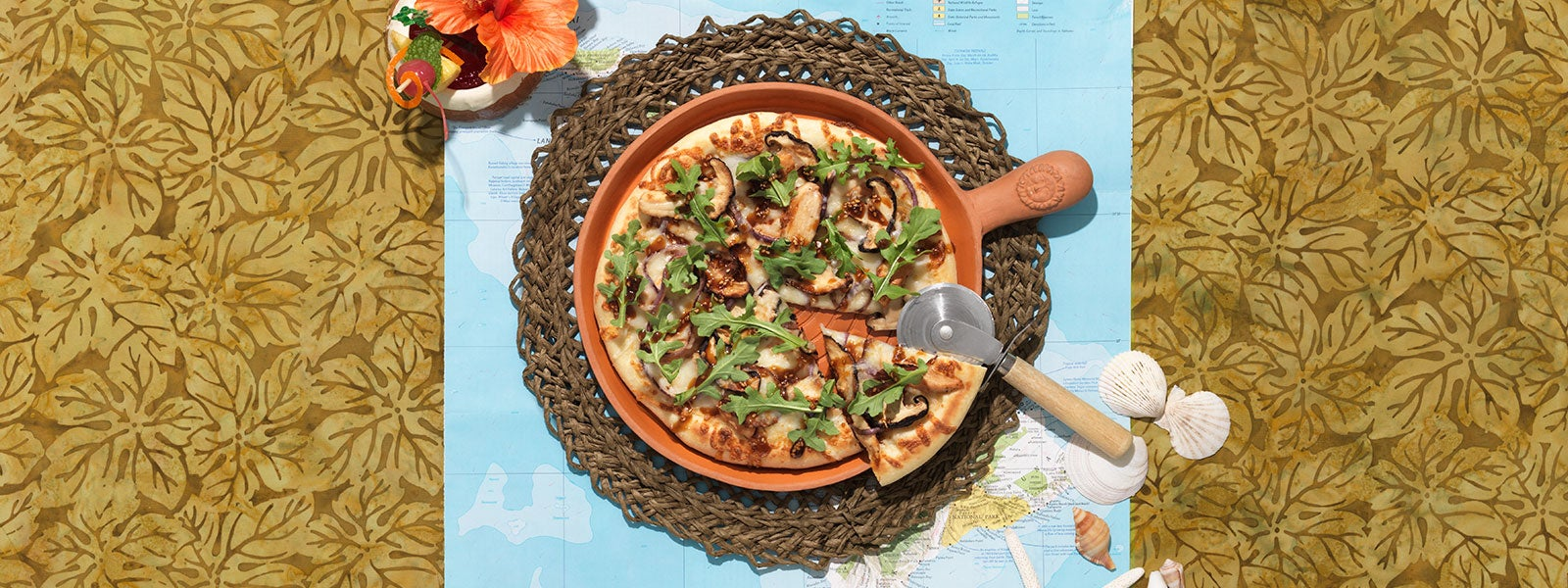 Island Grilled Pizza