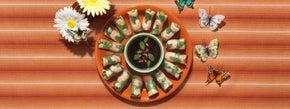 Thai Shrimp Fresh Rolls with Chili Dipping Sauce