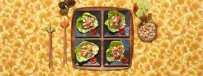 Toasted Sesame Ahi Tuna Poke in Lettuce Cups