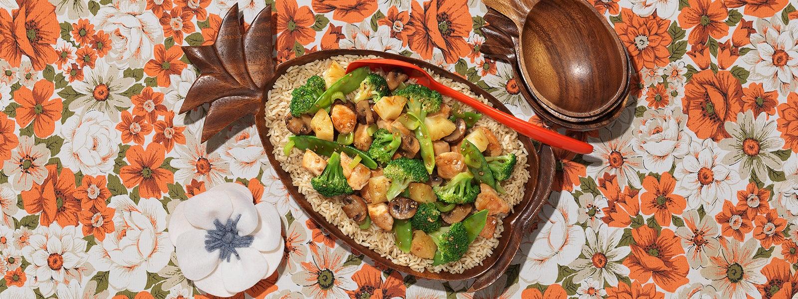 Island Teriyaki Chicken & Broccoli