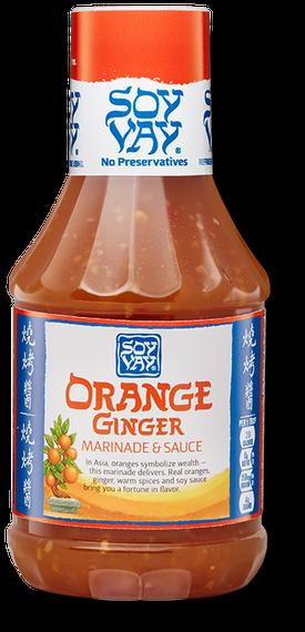 Orange Ginger Marinade & Sauce
